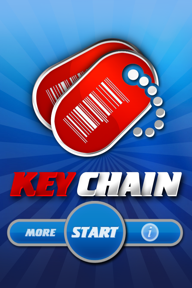KeyChain! iPhone App that allows you to get rid of those loyalty cards & reward cards on your KeyChain